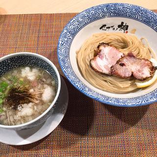 和牛ホソつけ麺(セアブラノ神 壬生本店 )