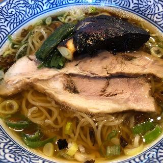 魚青ラーメン(麺や ぶたコング)
