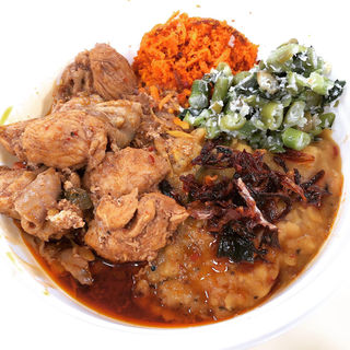 スリランカチキンカレープレート(イベントバージョン)(Curry & Cafe Afterglow(アフターグロウ))