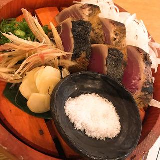 鰹の塩たたき(龍神丸)