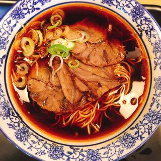 牛肉麺(香港プラザ)