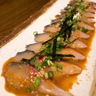 胡麻鯖(博多 酒佳蔵)