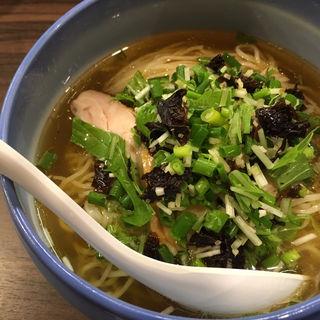 冷煮干SPICEしお(麺や玄鳥)