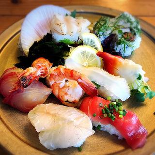 寿司定食(魚料理の店 達(だるま))