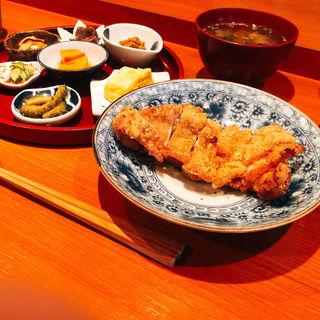 揚げ鶏ネギソース(定食サトウ )