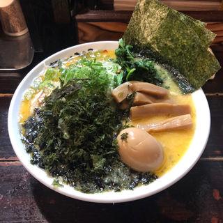 いのこラーメン(塩)中盛り(いのこ 赤塚店)