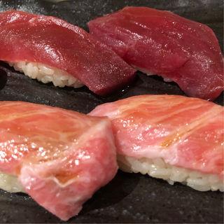 マグロざんまい寿司(鮪のシマハラ)