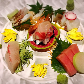 刺身盛合せ(水魚 (すいぎょ))