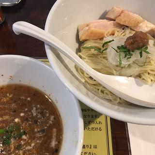 梅とシソの魚強(いわし)の冷たい混ぜつけ麺(塩生姜らー麺専門店 MANNISH (マニッシュ))