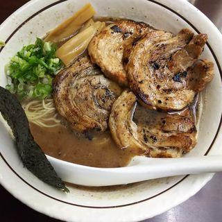 豚濁和出汁肉そば(バサノバ)