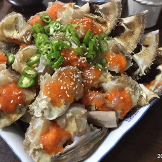 カンジャンケジャン(渡り蟹の醤油漬)(眞味食堂 (チンミシッタン))