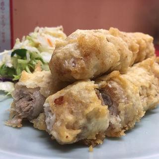 豚肉の天麩羅(昇福亭 )