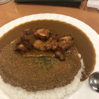 パク森からあげカレー(カレー屋パク森 渋谷店 (カレーヤ パクモリ))