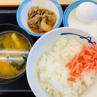 朝定食(松屋 千駄木店 )