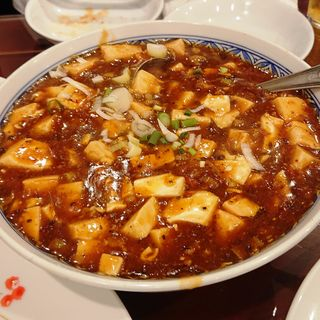 麻婆豆腐(美山飯店)