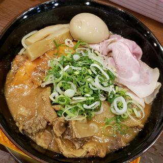 鮭と鮭フレークのチーズ味噌ラーメン(まりお流 )