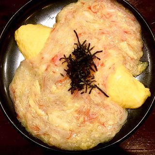 カニ玉あんかけオムレツ(酒場おっとん)