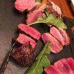 5種の肉盛り