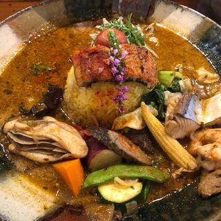 まぶし(スープカレー なっぱ)