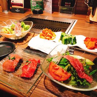 前菜(新宿 焼肉ブルズ)