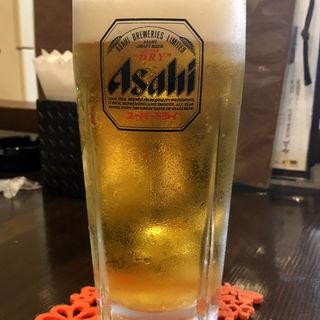 アサヒスーパードライ(中)(旬味旬菜 大和)