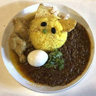 あいがけ(スパイスたまご付き)(ガトカリー (gato curry))