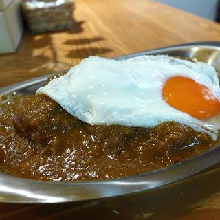 カレーライス(並盛/肉増し/目玉焼き)(辛口カレースタンド KIWAMI(キワミ))