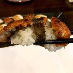 鰻(握り2貫)(旬味旬菜 大和)