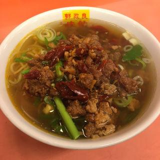 台湾ラーメン(味仙 焼山店 (ミセン))