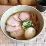 肉玉汐そば(大盛り)