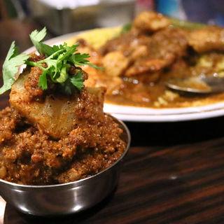 マトン挽肉と大根のキーマ(カレーの店 マボロシ )