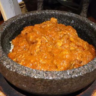 エクウス風お肉の石焼きカレー(エクウス )