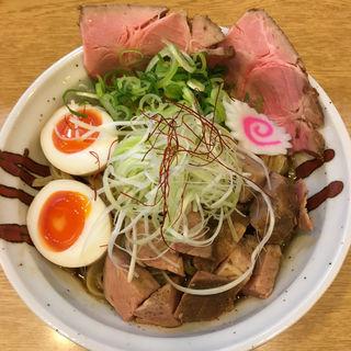 特製魚介まぜそば(らーめん香澄 中崎町店 (ラーメン カスミ))