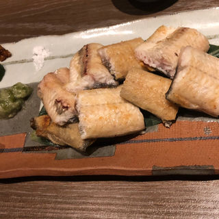うなぎの白焼き(酒菜の肴 遊食家 )