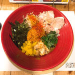 冷製汁なし味噌担担麺(創作らーめん style林 (ソウサクラーメン スタイルハヤシ))