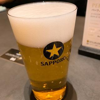 ファースト(サッポロ生ビール黒ラベルTHE BAR)