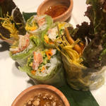 ずわい蟹の生春巻 - ポッピアプー