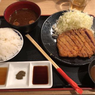 牛リブロースカツ膳(牛カツ専門店 京都勝牛 小川町 )