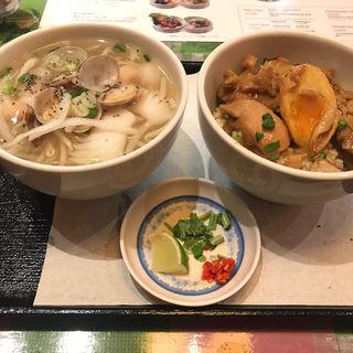 カレーとフォーランチ(KHANHのベトナムキッチン銀座999)