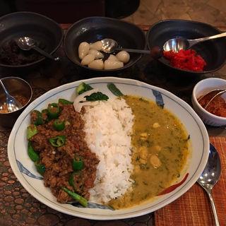 キーマカレー&豆カレー(銀座ブラン亭 )