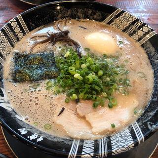 煮卵ラーメン(博多一双 博多駅東本店 )