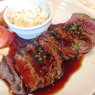 牛ハラミのステーキ(CARNE BAR KATETE 大門店)