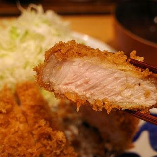 上ロースカツ定食(とんかつ 寿々木 )