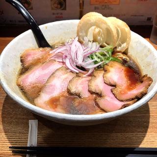 煮干しブラックちゃーしゅーめん(らーめん専門 和心 武庫之荘店)