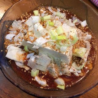 冷たい麻婆麺(限定)(まぜまぜ ムタヒロ 3号店 )