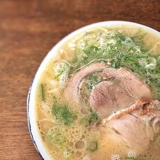 ワンタン麺(ふくちゃんラーメン田隈本店)