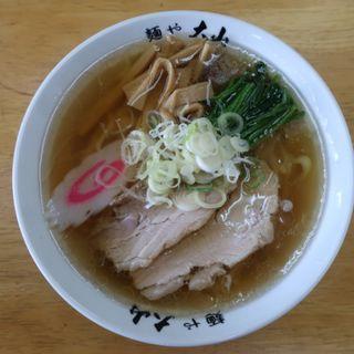 らーめん(青竹手打ちラーメン麺や大山)