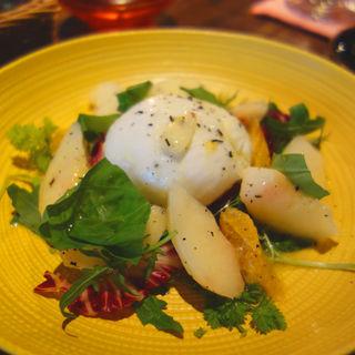 モッツァレラチーズと桃のアールグレイマリネ(Libre(リブレ))