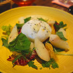 モッツァレラチーズと桃のアールグレイマリネ