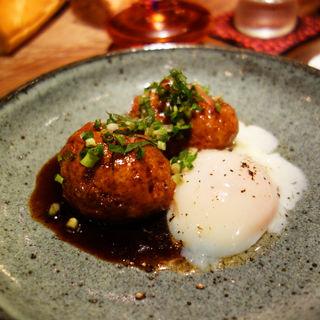 鶏のつくねと半熟卵(Libre(リブレ))